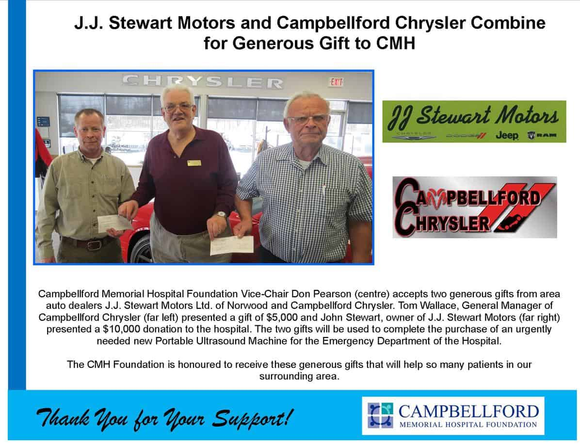 JJ Stewart & Campbellford Chrysler 2017