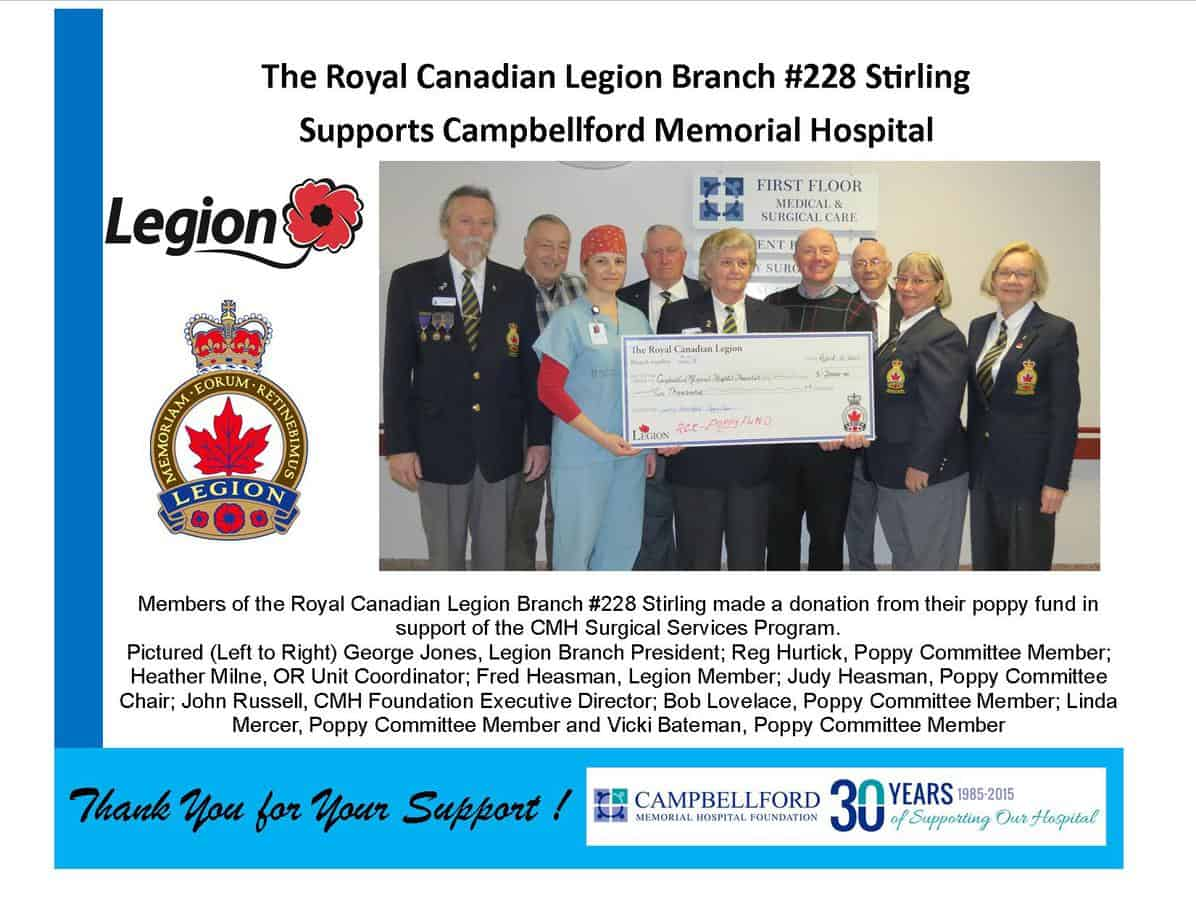 Legion Branch 228 Stirling
