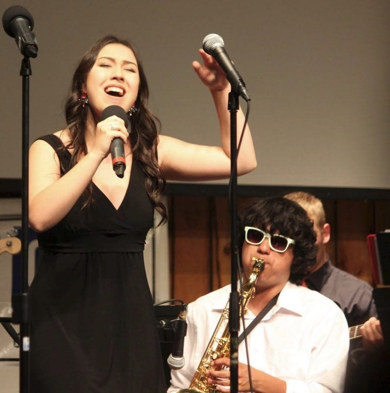Singer and Sax