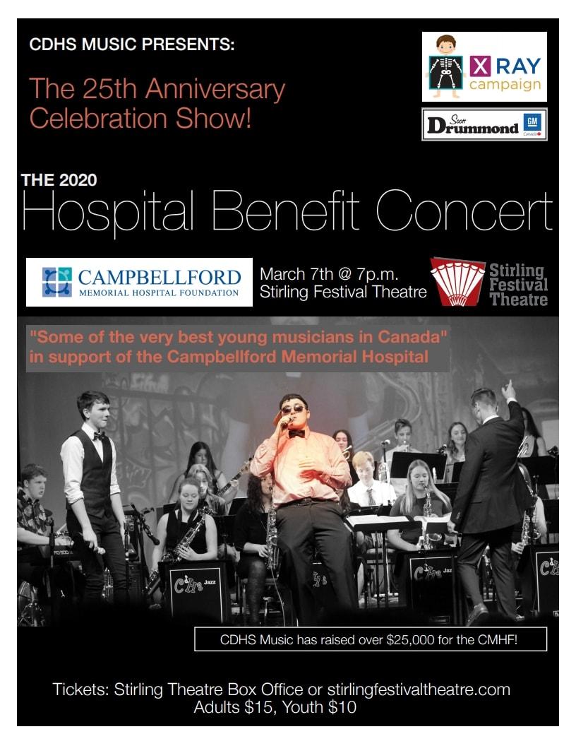 201920 Hospital Benefit Concert Poster