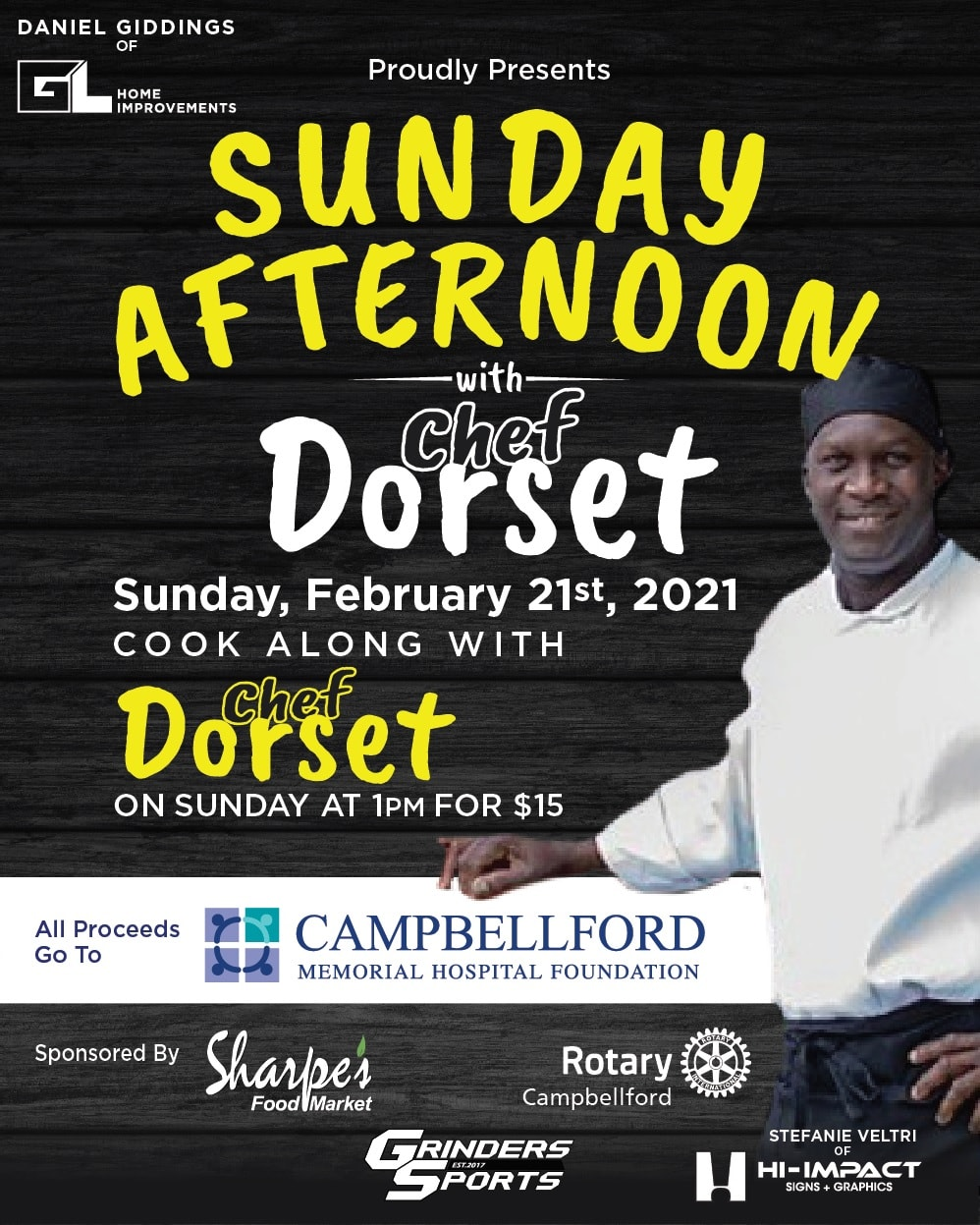 Cooking With Dorset Front of Poster